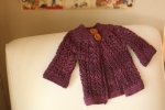 Elizabeth Zimmerman Practically Seamless Baby Sweater on Two Needles